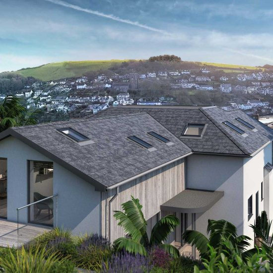 JSD Design Architects Devon 5 bed low energy home